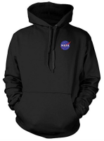 NASA Space Hoodie Top Jumper Age 11 to 13 New Quality