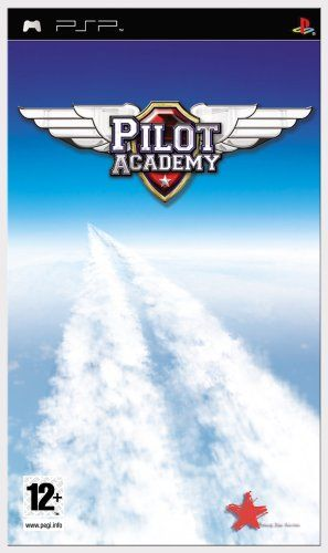 Pilot Academy Playstation PSP Flight Sim Simulator Aviation Flight Aircraft