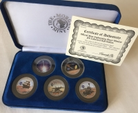 Very Rare Mars Rover Coin Set NASA JPL Missions The Morgan Mint Collection