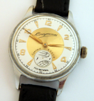 Quality Very Rare Sputnik USSR Russian Space Program Watch (Needs Slight Restore Repair)