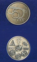 RareNASA 50 Years Of Space Flight Bronze Medallion