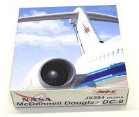 Aircraft Rare Jet-X NASA Weightless Wonder VI DC-9-30 Diecast Model 1/400 Scale N923NA