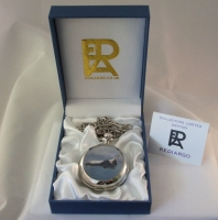 NASA Space Shuttle Rare Limited edition pocket watch only 100 made commemorative Collection