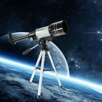 Quality Made Monocular Professional Space Astronomic Astronomy Telescope With Tripod & Eye Pieces & Accessories