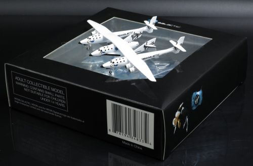 Virgin Galactic Spaceship Spacecraft Scale 1:400 Diecast Model With Stand V