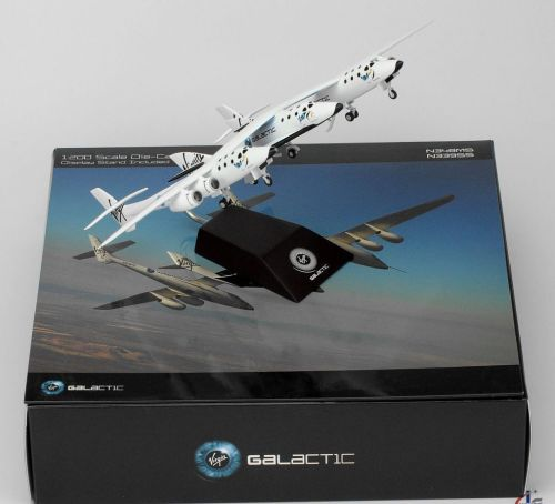 Virgin Galactic Spaceship Spacecraft Scale 1:200 Diecast Models With Stand