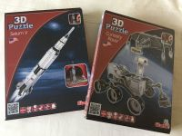 2 X NASA 3D Puzz Style Sets Boxed Easy Build 27cm large Model