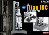 Dragon Space Collection 1/400 SCALE Titan IIIC W/Launch Pad Maiden Flight Nasa Diecast Model