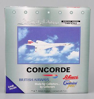 Gemini Jets Concorde British Airways Diecast 1:400 Aircraft Aviation Model