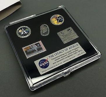 Nasa Apollo 40th Anniversary Pin Badge Collection Set Rare Collectable