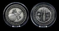 NASA Space Constellation Medallion Medal Coin Very Rare