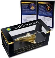 Smithsonian 24K Gold Collector's Edition Space Shuttle Model Nasa