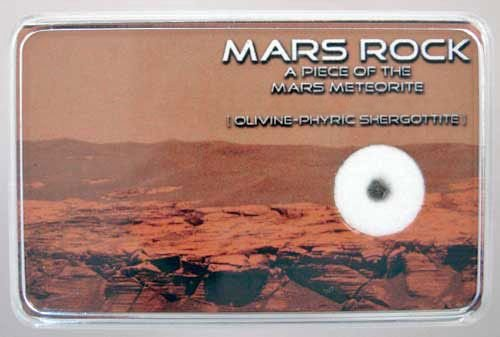 A Very Rare Genuine Martian Meteorite NWA 4766 Mars Rock Nasa Curiosity