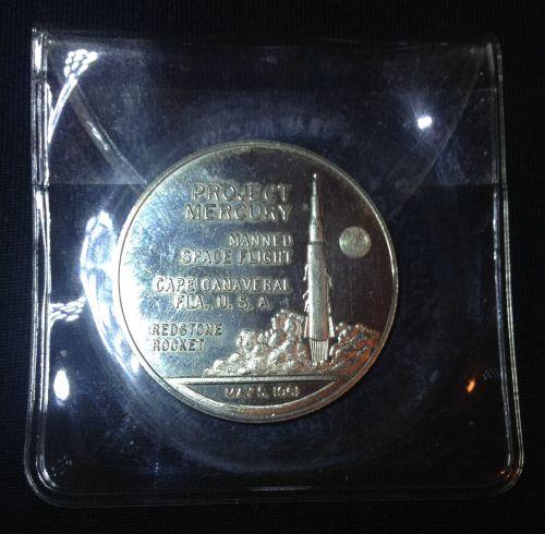 Gemini NASA Missions Coin In Soft Case Rare