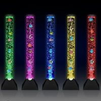 LED Red Green Blue Water Bubble Floor Lamp Lighting Effects Machine Mood Sensory Lighting