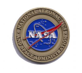 NASA HQ Vector Logo Challenge Coin Medallion