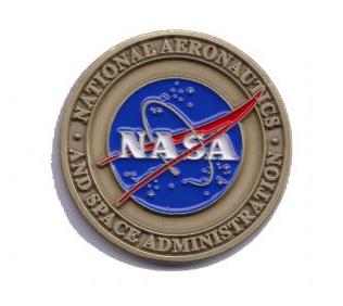 NASA HQ Vector Logo Challenge Coin Medallion