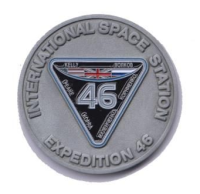 ESA/U.K. Astronaut Tim Peake Expedition 46 Limited Edition Medallion