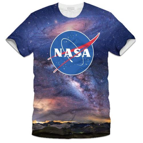 NASA LOGO SPACE T-SHIRT TOP GREAT DESIGN Sizes S M L XL XL2