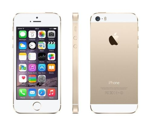 Apple iPhone 5S 16GB White & Gold Unlocked To All Networks Boxed Very Good