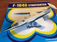NASA 1/72 Witty Wings Aviation 72 F104 Starfighter, Dryden DFRC Space Die Cast Model