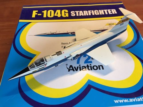 NASA 1/72 Witty Wings Aviation 72 F104 Starfighter, Dryden DFRC Space Die C
