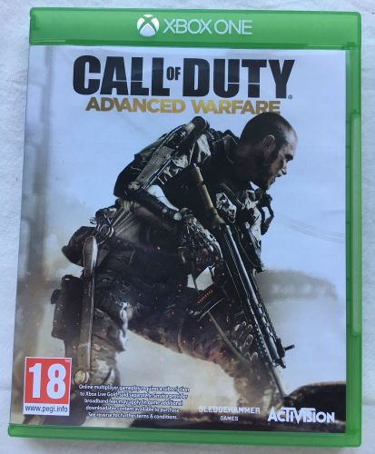 Xbox One Call Of Duty Advanced Warfare Game Microsoft