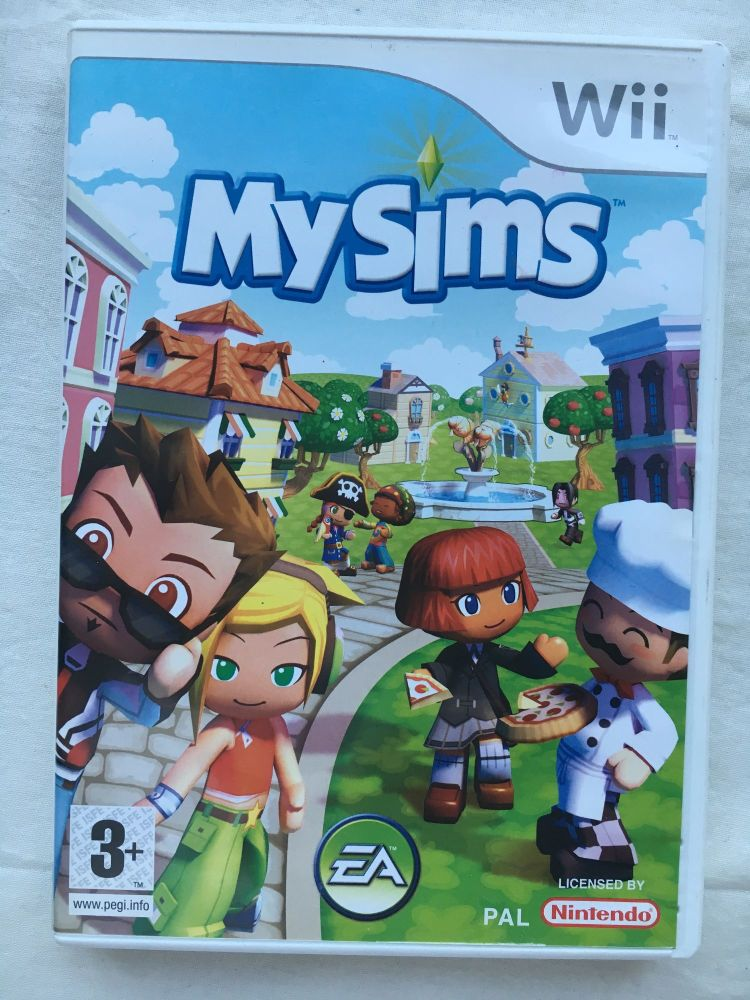 Nintendo Wii Game My Sims Classics