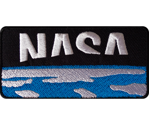 NASA View From Space Iron On Patch Sew On Clothes Bag Case Astronaut Space