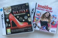 Style Boutique & Imagine Fashion Model Nintendo DS Game 2 Game Collection Set