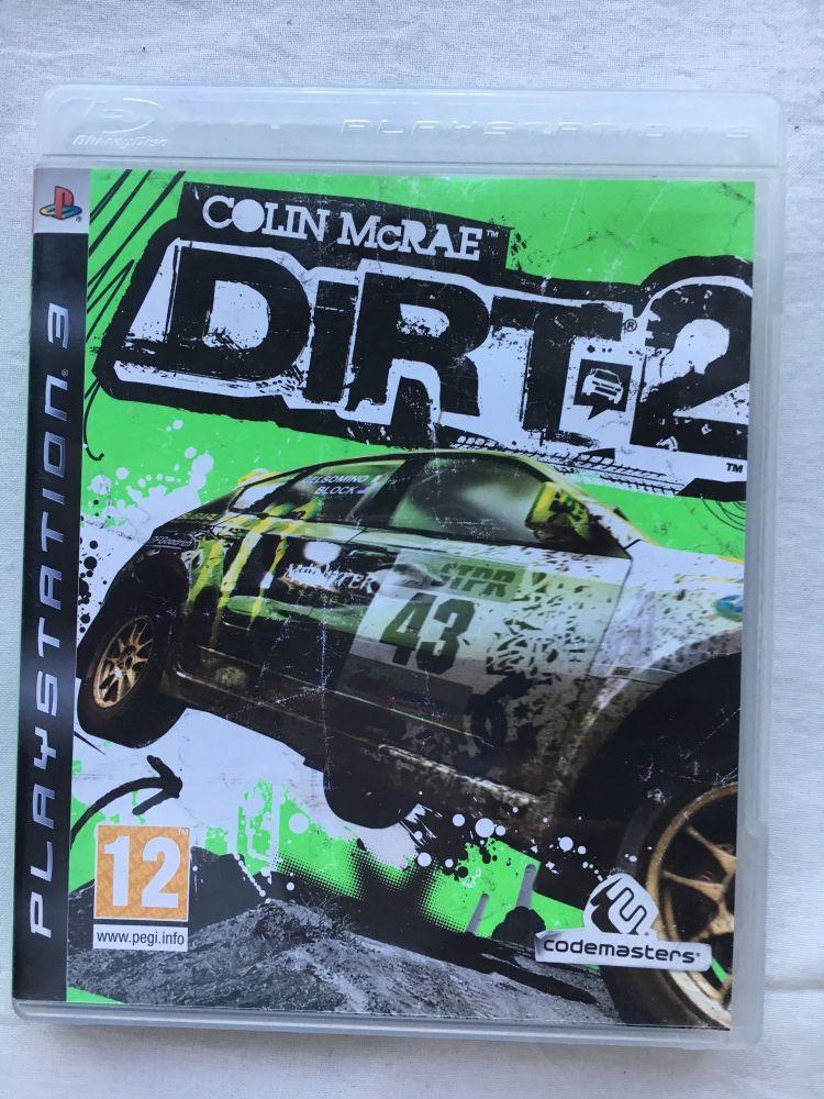 Dirt 2 Rally Car PS3 Playstation Game Rare