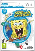 SpongeBob Squarepants Squigglepants uDraw Nintendo Wii Game