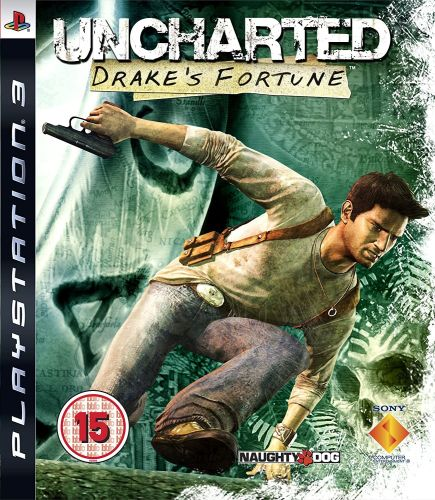 Uncharted Drake's Fortune PS3 Sony Playstation 3 Game