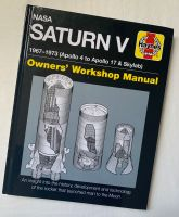 NASA Saturn V Apollo Rocket Haynes Owners Workshop Manual Book Detailed