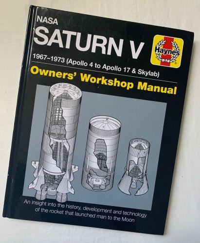 NASA Saturn V Apollo Rocket Haynes Owners Workshop Manual Book Detailed