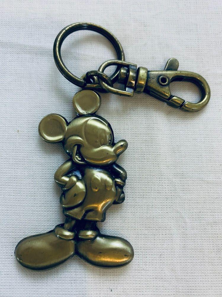 Micky Mouse Keyring Disneyland Genuine Disneyworld Theme Park