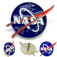 NASA Logo Pin Badge