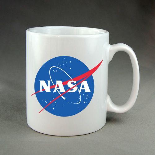 NASA Insignia Mug, NASA Logo, NASA Badge, NASA, National Aeronautics And Sp