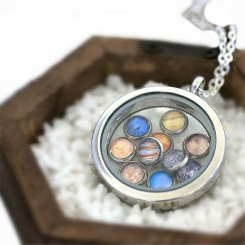 Planet Solar System Large Stunning Necklace Chain Jewellery
