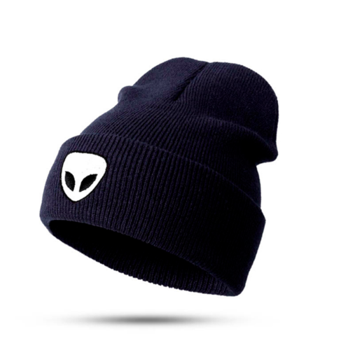 Aeea 51 Alien UFO Cap Hat Bleck Or White