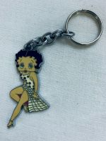 Rare Betty Boop Keychain Keyring Sgtunning