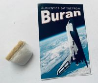 Very Rare Russian Buran USSR Spacecraft Heat Tile Genuine Authentic (Small)