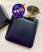 Genuine NASA Logo Space Shuttle Shirt Cuff links Business Work Meeting Science Astronomy Aviation Cufflinks