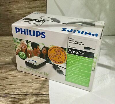 Philips Bright LED PPX2340 Pocket DLP Projector Model For Windows Laptop 7