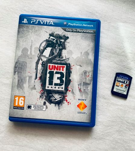 Unit 13 Sony PSVita Playstation PS Vita Game