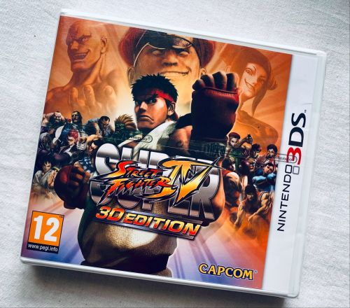Street Fighter 3D Editon Nintendo 3DS 2DS Game New