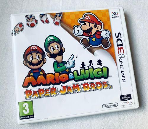 Mario & Luigi Paper Jam Game For Nintendo 3DS 2DS Handheld Game Console