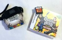Guitar Hero Rock Game & Device For Nintendo DS Handheld Console