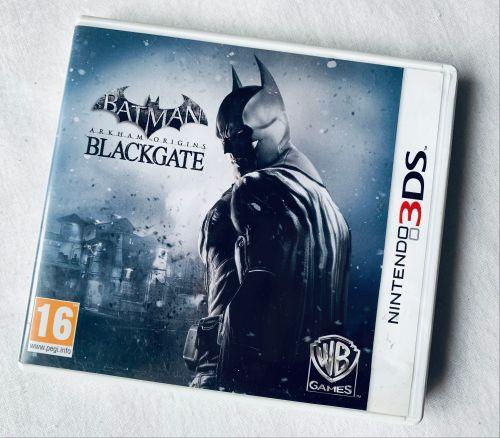 Batman Blackgate Nintendo 3DS 2DS Game