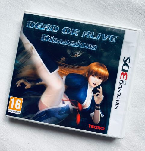 Dead Or Alive Nintendo 3DS 2DS Game